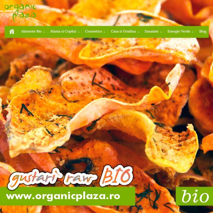 Chipsuri si Gustari RAW BIO Descopera-le mai jos: http://organicplaza.ro/gustari-raw