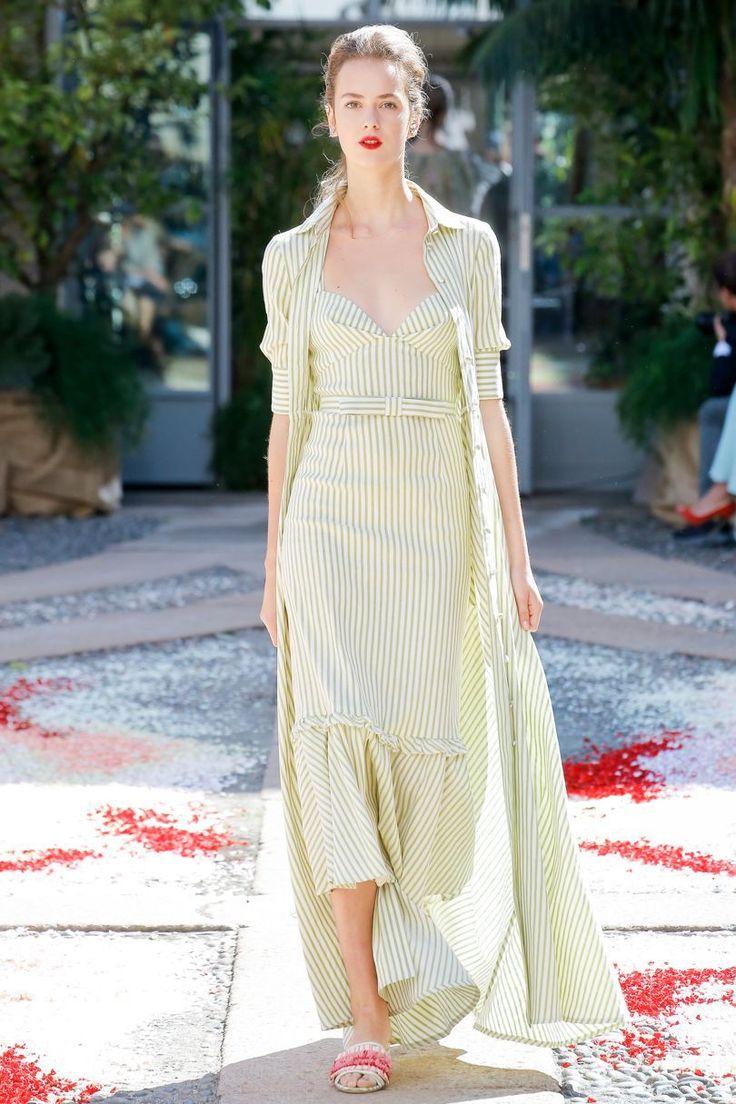 Luisa Beccaria Spring/Summer 2018 Ready To Wear | British Vogue