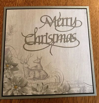 Kaisercraft - Christmas Jewels - August 2017 collection - card