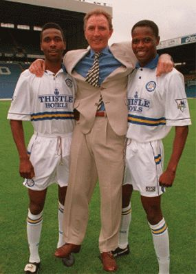 Sept. 5th. 1994: Leeds United's Howard Wilkinson signed Phil Masinga and Lucas Radebe for a combined fee of £250,000.