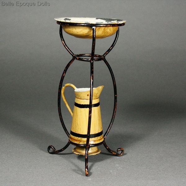 Antique Miniature Wash Stand - By Maerklin