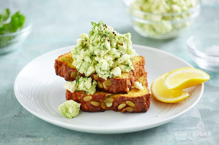 I'm trying to Pin It To Win It! To guarantee a spot on the next I Quit Sugar Program, CLICK THIS IMAGE Paleo Veggie Bread on the 8-Week Program – I Quit Sugar