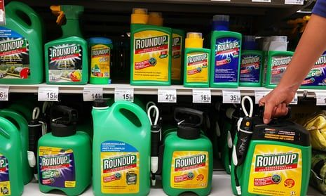 Roundup in a supermarket