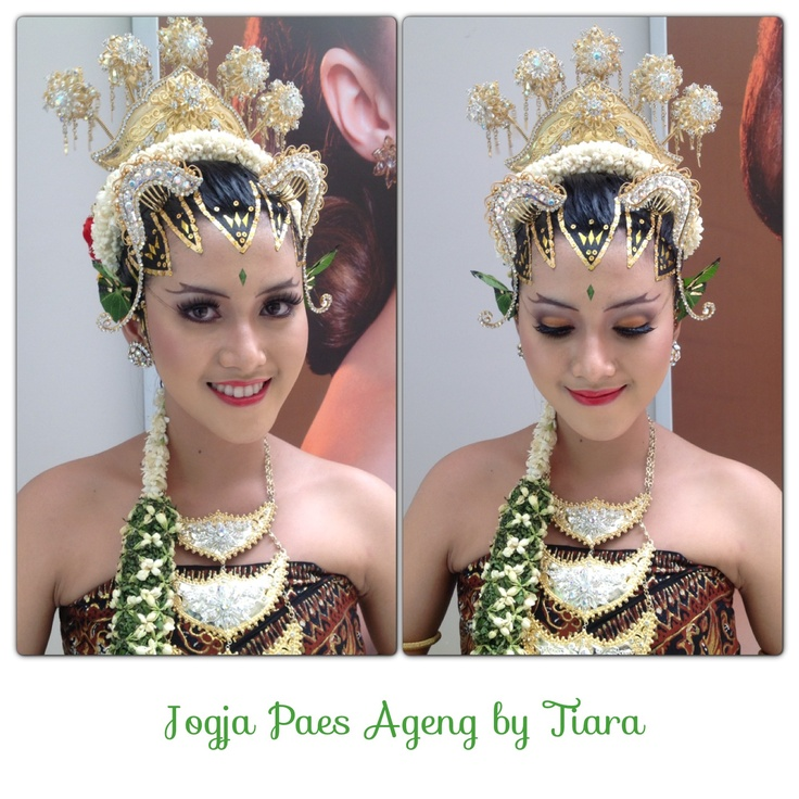 Indonesian traditional bride called Jogja Paes Ageng #wedding #bridal Please kindly visit www.beautybytiara to see my beauty work. Thank you!