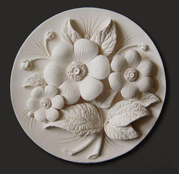 Flower ceramic | Vyacheslav Goryanov. Discussion on LiveInternet - Russian Service Online Diaries