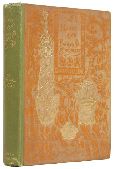Oscar Wilde's A House of Pomegranates (first edition, 1891)