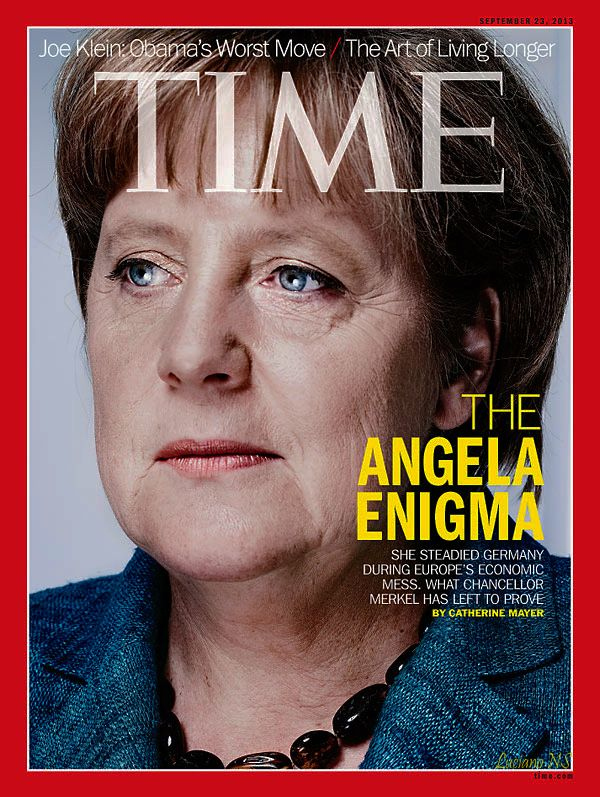 angela merkel deutschland 39 s prime minister time magazine september 2013 women in magazines. Black Bedroom Furniture Sets. Home Design Ideas