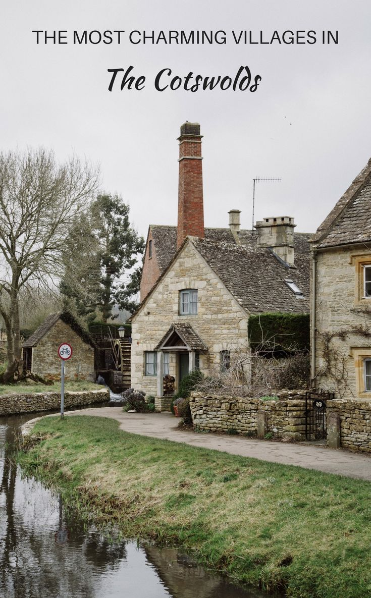 The most charming villages in the Cotswolds - the Cotswolds are one of the most beautiful and romantic areas in England.