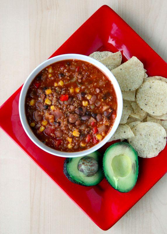 Vegan Recipe: Crockpot Quinoa Chili