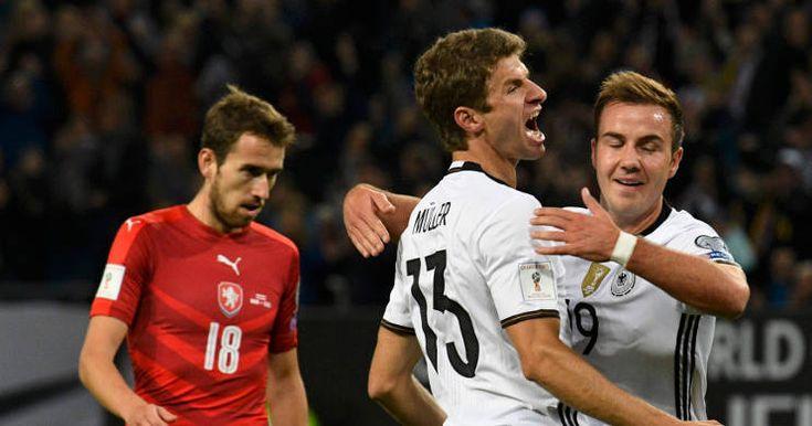 Kualifikasi Piala Dunia 2018: Mueller Dua Gol, Jerman Hantam Republik Ceko 3-0 -  http://www.football5star.com/international/kualifikasi-piala-dunia-2018-mueller-dua-gol-jerman-hantam-republik-ceko-3-0/90875/