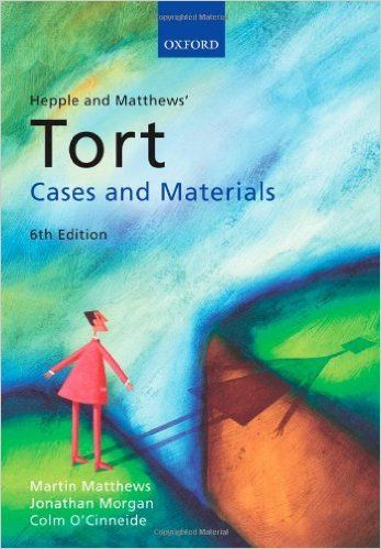 pages tort cases paper