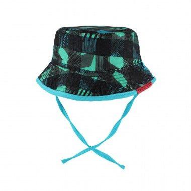 Reversible Bucket Hat with Strings / Chapeau bob réversible à cordons Souris Mini