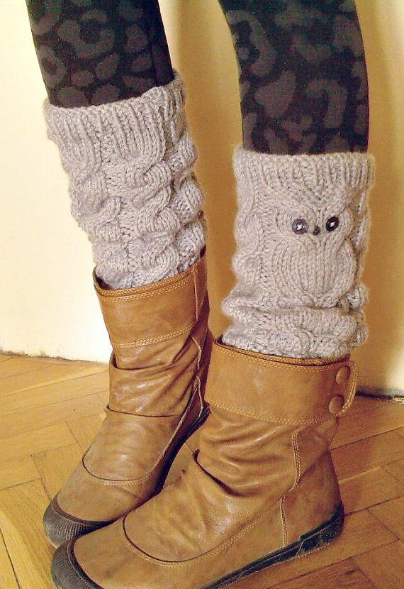 Owl Leg Warmers <3