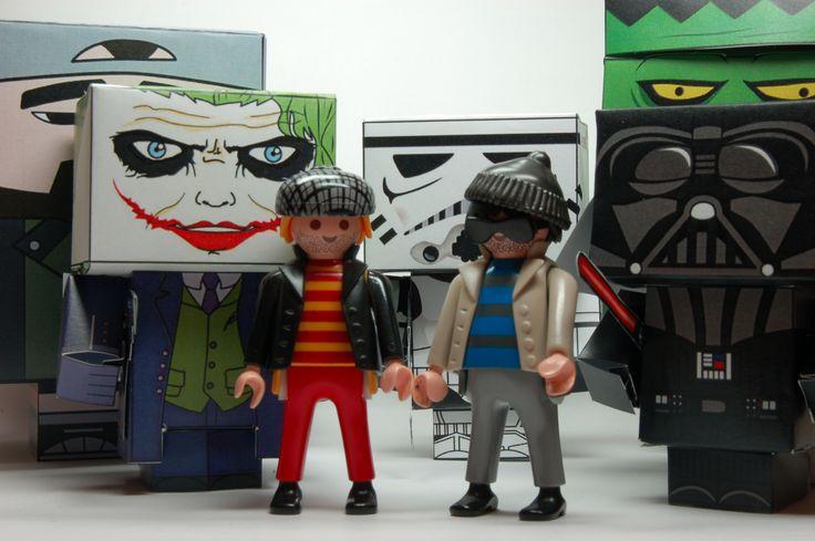 Pete & Rob versus Cubeecraft Villains | Playmobil® Stop Motion Film 050