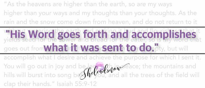 """You can trust God at His Word ✨"" - Latoya Tolbert || #trust #faith #encouragement #WordofGod #scripture #isaiah #bible #Jesus #women #hope #believe #power #alive #active #sheleadsnow"