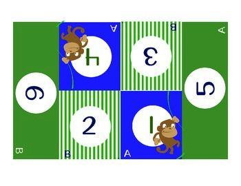 These Jungle themed Kagan table mats work well with Kagan Cooperative Learning Strategies using teams of 6.