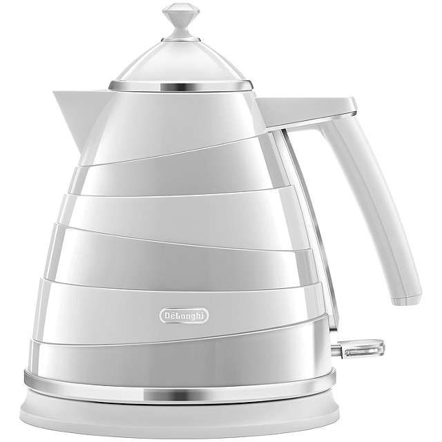 BuyDe'Longhi Avvolta Kettle, White Online at johnlewis.com