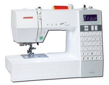 Macchina per cucire Janome DC 6030 - Macchina per cucire corredata di Extension Table.