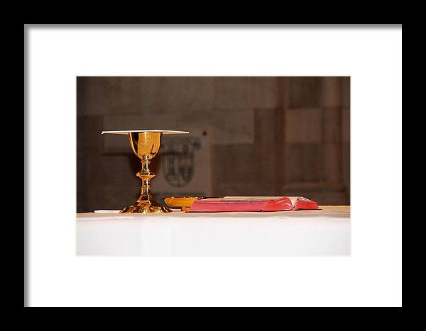 eucharist, host, bible, altar, chalice, church, holy rosary cathedral, toledo, ohio, michiale schneider photography
