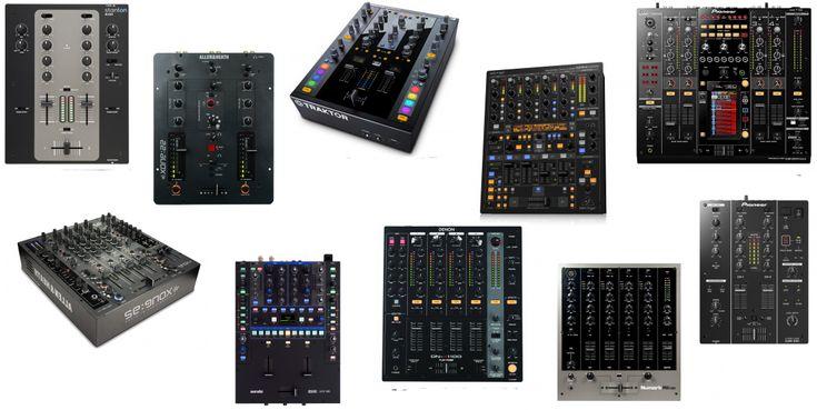 We found the best DJ mixers in the market! #djgear #djequipment #djmixer #mixer #dj #discjockey