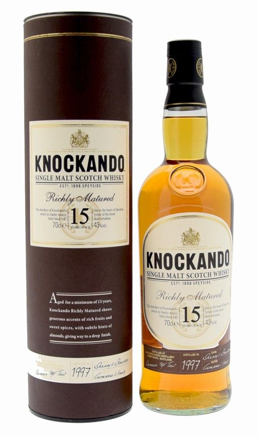 Knockando 15 ans Richly Matured 70cl 43°