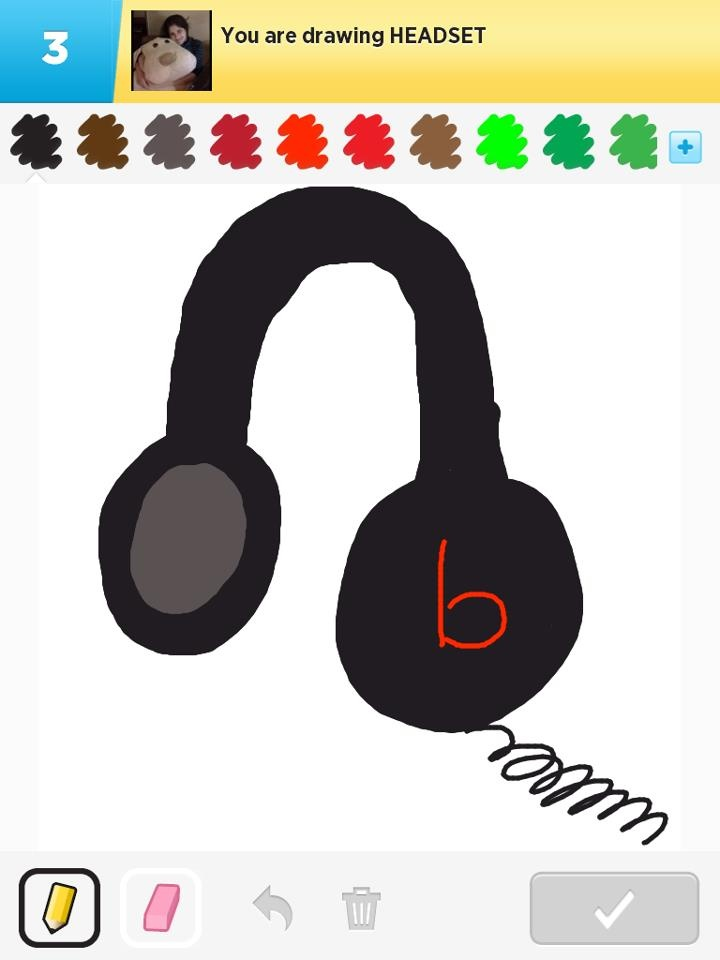 hand drawn headsets