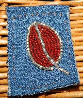 One Kiss Creations Beaded Jewelry: A Time To Stitch Seven ~ Bead Embroidery
