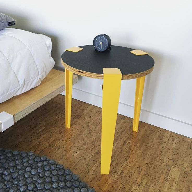 The Floyd Leg allows you to create a coffee table or side table from any flat surface.