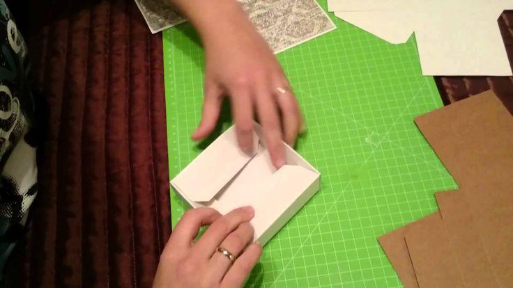 """Jak złożyć bazę """"wybuchającego"""" pudełka Latarnia Morska. How to fold Lighthouse exploding box base? Składane na filmie pudełko jest dodatkowo oklejone papier..."""
