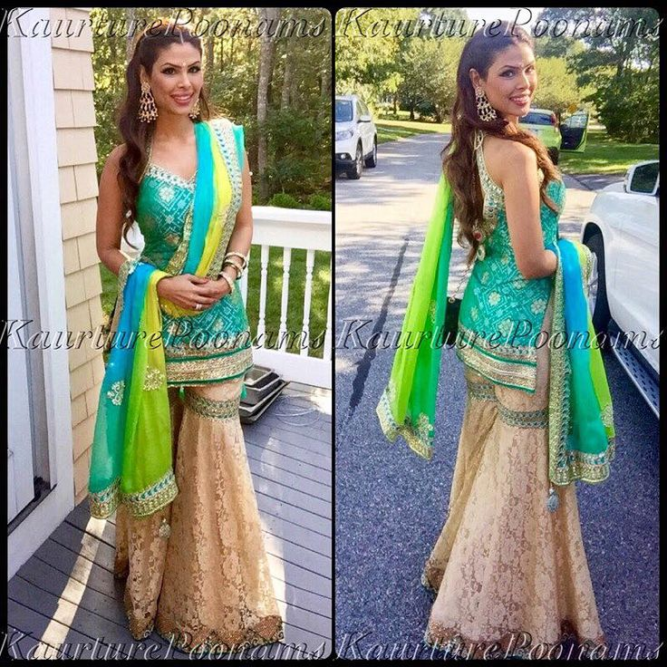 04952694f0 Indian Wedding Sharara: The Four Types Of Quintessential Pakistani ...