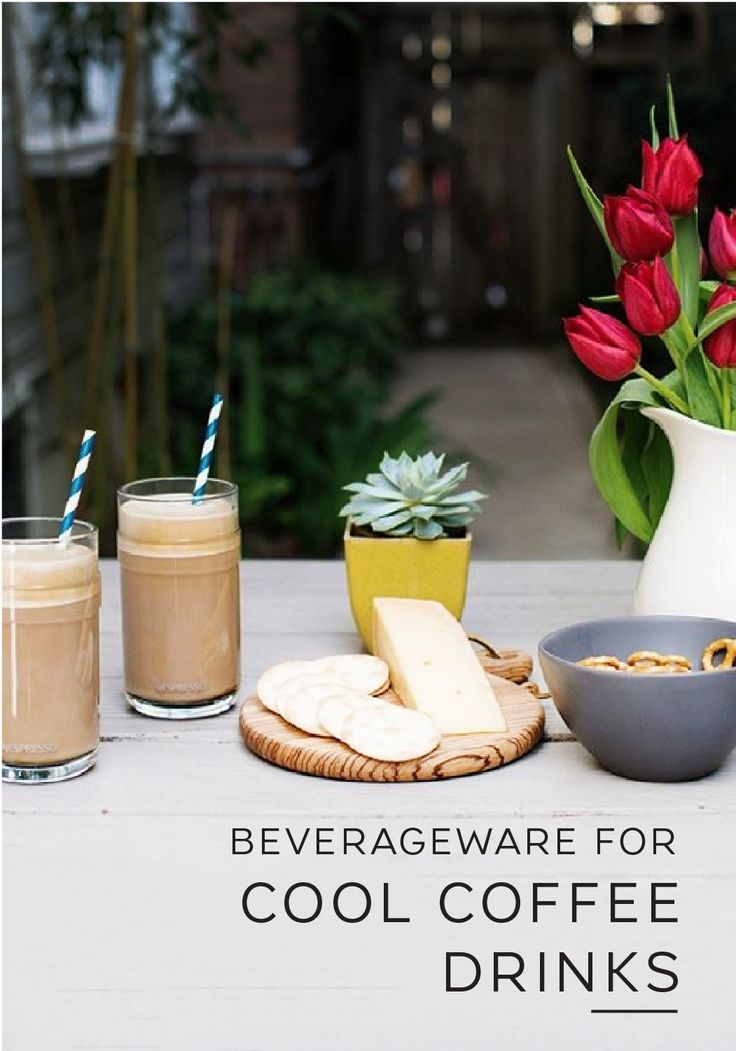 Warmer weather means cooler drinks. Now that's an easy life motto to live by. Kick back and enjoy the feeling of sunshine on your face with this Vertuoline recipe set; perfect for serving a refreshing glass of cool iced coffee. Break out these elegant glasses for a sophisticated after-dinner coffee at your next backyard cookout or use them to enjoy your morning espresso.