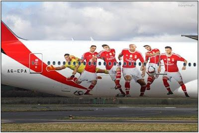 Guachos Vermelhos: Fly SL Benfica!