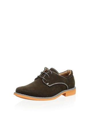 54% OFF Joseph Allen Kid's Lace-Up Casual Shoe (Brown Suede)