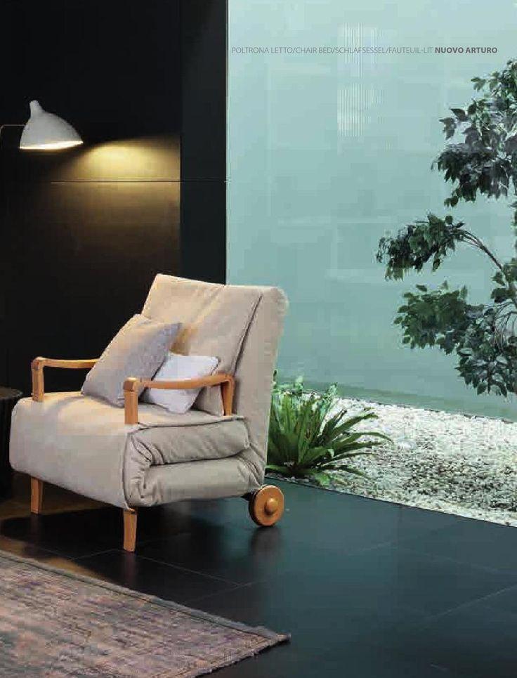 #кресло_кровать #раскладушка #Bonaldo - Sofa beds and chair beds, Nuovo Arturo