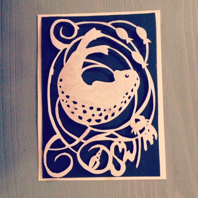 papercut, seal, swim