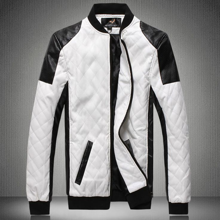 17 Best ideas about White Leather Jacket Mens on Pinterest ...