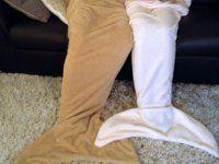 mermaid tail blanket sellőfarok takaró ajándékba