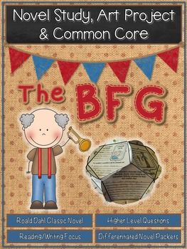 The BFG by Roald DahlThe BFG is an amazing novel by Roald Dahl about a little girl named Sophie who is whisked away in the middle of the night by a giant.  At first, Sophie is worried that she will be eaten, but she quickly learns that she is in the presence of a kind and loving giant.