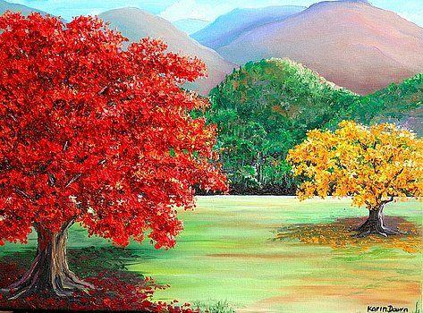 Savannah Flamboyant By Karin Dawn Kelshall Best