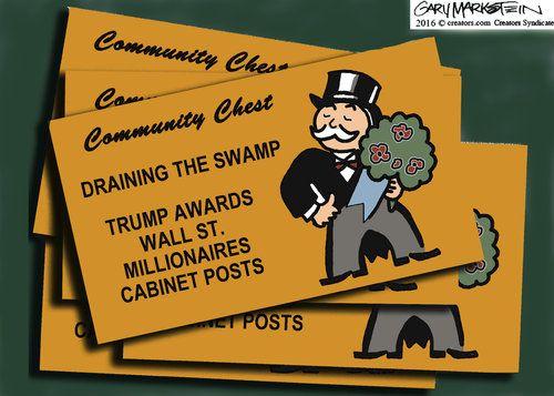 Gary Markstein Editorial Cartoon, December 03, 2016     on GoComics.com