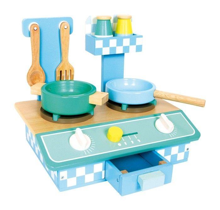 Kuchenka drewniana dla dzieci kolory-marzen.pl | http://www.kolory-marzen.pl/gotujemy,005001010001.html