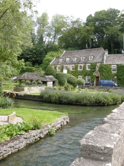 Bibury, Cotswolds, UK.  If you have never been to the Cotswolds, do it before you die.  It's the Shire and a Thomas Kinkade painting all rolled into one.