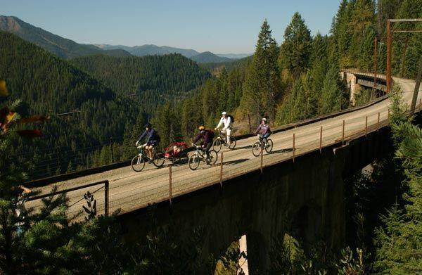 Im thinking a hike on this trail this weekend! Hiawathat Trails, North Idaho
