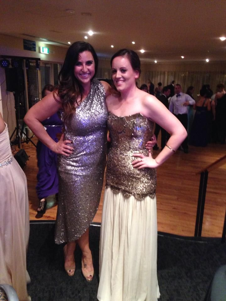 Absolutely loved this dress! Thank you so much x Annique on the right
