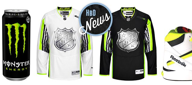 HBD NEWS: NHL ANNOUNCES ALL-STAR JERSEYS