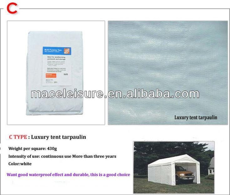 white waterproof tarp/PE tarp/tent tarp