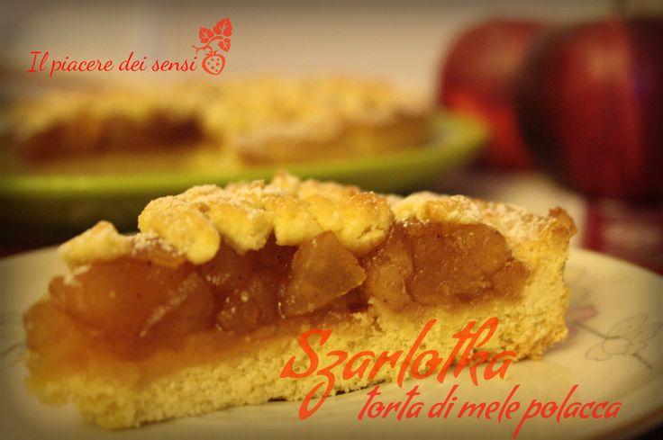 Szarlotka torta di mele polacca