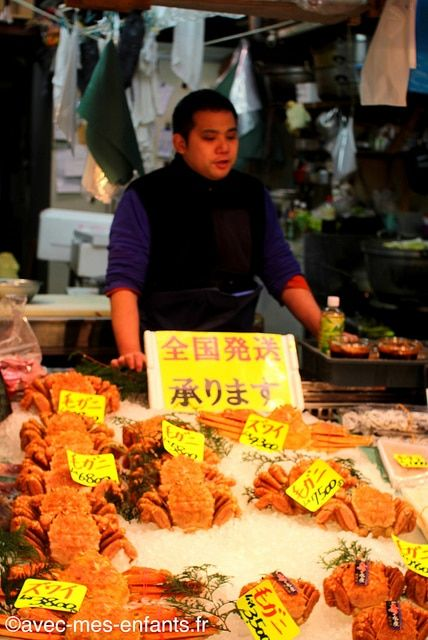 Tokyo en famille : balade coup de coeur à Tsukiji ! #voyageenfamille #familytrip #tokyo #tsukiji