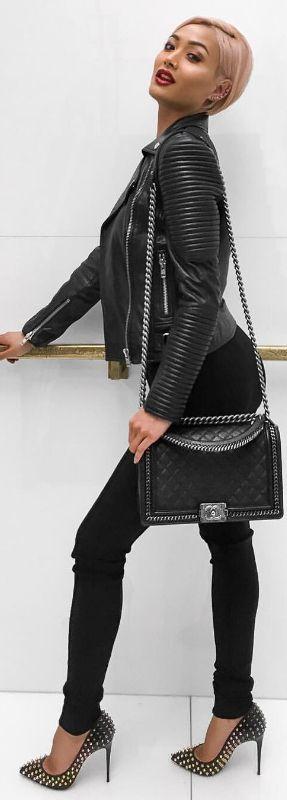 @chanelofficial Boy bag // Fashion Look by Micah Gianneli