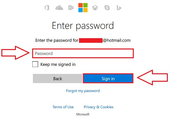 Hotmail Sign In Steps